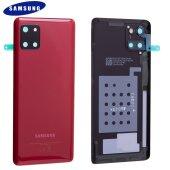 Original Samsung Galaxy Note 10 Lite N770F Akkudeckel Back Cover Aura Rot GH82-21972C