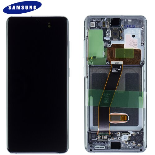 Samsung Galaxy S20 G980F S20 5G G981F GH82-22123A / GH82-22131A LCD Display Touch Screen Cosmic Grey