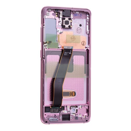 Samsung Galaxy S20 G980F S20 5G G981F GH82-22123C / GH82-22131C LCD Display Touch Screen Cloud Pink