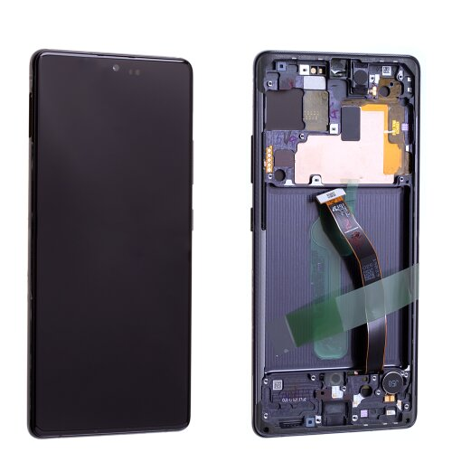 Samsung Galaxy S10 Lite G770F GH82-21672A LCD Display Touch Screen Schwarz