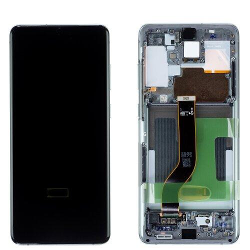 Samsung Galaxy S20 Plus G985F / S20 Plus 5G G986B LCD Display Touch Screen Cosmic Grau