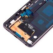 LG G7 ThinQ LCD Display Bildschirm Glas Scheibe Touch Screen Rahmen Schwarz