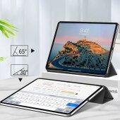Smart Cover für Apple iPad Pro 12.9 2020 Magnetische Befestigung Schutzhülle Tasche Black