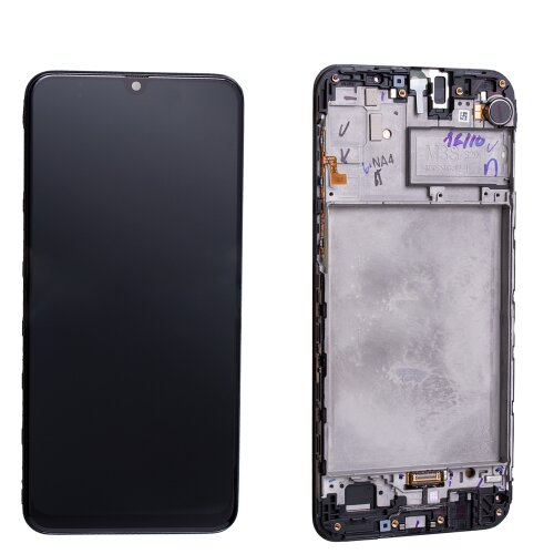 Samsung Galaxy M30s SM-M307F LCD Display Touch Screen (Service Pack) Schwarz