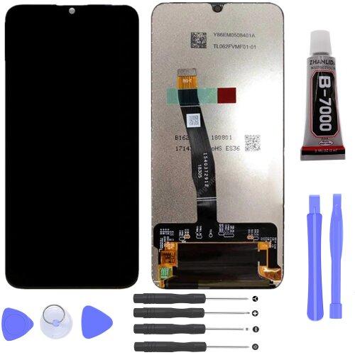 Huawei P Smart Plus 2019 LCD Display Bildschirm Glas Scheibe Touch Screen Schwarz