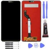 Xiaomi Mi 8 Lite LCD Display Bildschirm Glas Scheibe Touch Screen Schwarz