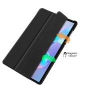 Smart Cover für Samsung Galaxy Tab S6 T860 T865 10.5 Zoll Schutzhülle Case Hülle Tasche Schwarz