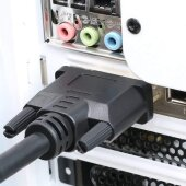 2m DVI auf HDMI Kabel DVI-D DVI 24+1 Stecker Adapter 1080P
