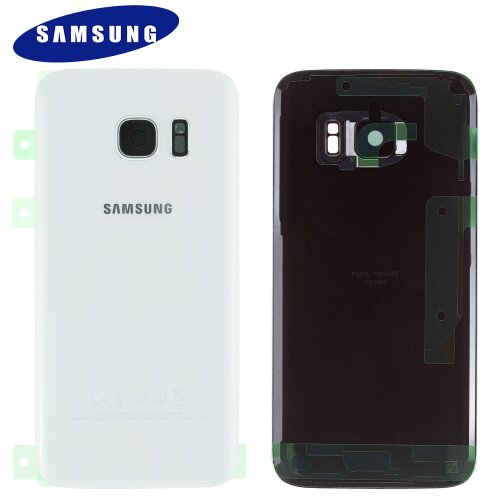 Original Samsung Galaxy S7 SM-G930F Akkudeckel Battery Cover Backcover Rückseite Weiß GH82-11384D