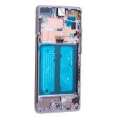 Original Samsung Galaxy S10 5G G977B LCD Display Touch Screen GH82-20442A Crown Silber
