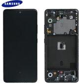 Samsung Galaxy A51 5G SM-A516B GH82-23100A / GH82-23124A LCD Display Touch Screen (Service Pack) Black