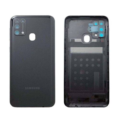 Original Samsung Galaxy M31 2020 M315F Akkudeckel Battery Cover Backcover Schwarz GH82-22412C