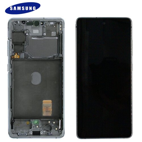 Samsung Galaxy S20 FE G780F LCD Display Touch Screen GH82-24220B / GH82-24219B Weiß