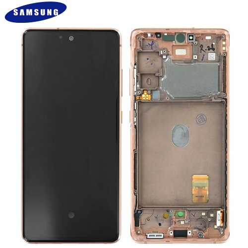Samsung Galaxy S20 FE G780F LCD Display Touch Screen GH82-24219F Cloud Orange