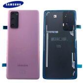 Original Samsung Galaxy S20 FE 4G G780F Akkudeckel Back Cover GH82-24263C Lila / Lavender