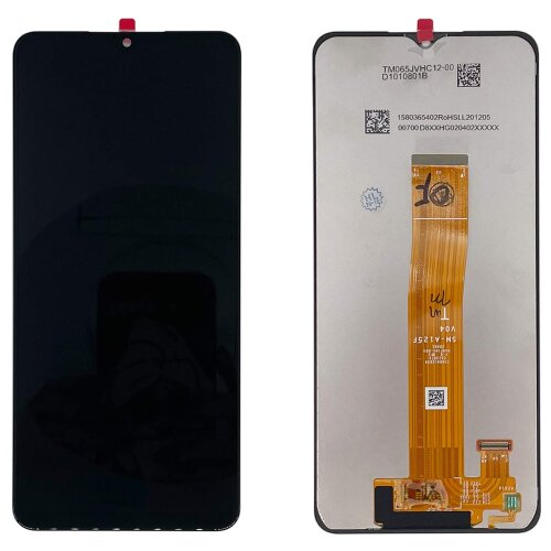 Original Samsung Galaxy A12 A125F LCD Display Touch Screen Bildschirm Schwarz