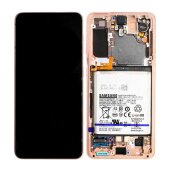 Original Samsung Galaxy S21 5G G991B LCD Display Touch...