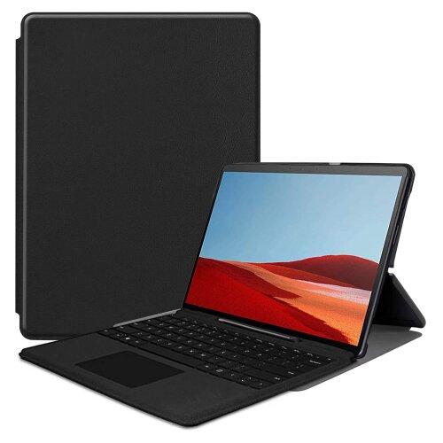 Smart Cover für Microsoft Surface Pro X 13 Zoll Schutzhülle Case Hülle Tasche Schwarz