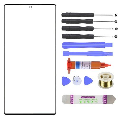 Samsung Galaxy Note 20 Ultra 5G N986 Front Glas Touch Screen LCD Display Scheibe Schwarz