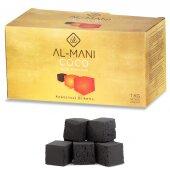 AL-MANI Gold Shisha Natur-Kohle aus 100% Kokosnuss 5 KG...