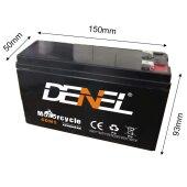 Akku 5,5AH 12V Blei Gel Batterie Battery Wartungsfrei...