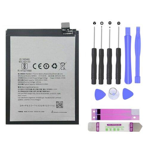 Power Akku für OnePlus 3T A3000 A3003 A3010 BLP633 Battery 3400mAh