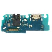 Samsung Galaxy A12 A125F Dock Connector USB C Ladebuchse Flex Kabel + Audio Jack
